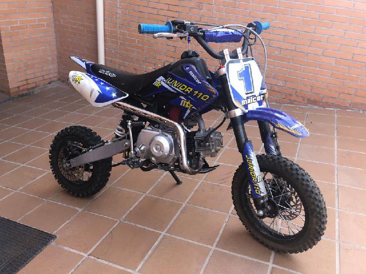 Pit bike malcor junior 110 cc