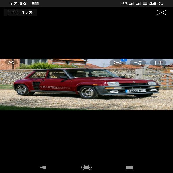 Renault 5 turbo maxi 1986