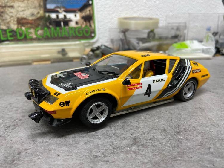 Renault alpine a310 rally slot 1/24