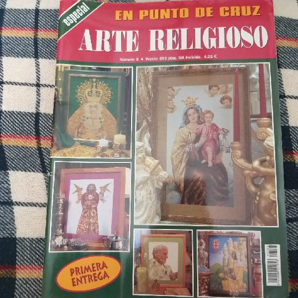 Revista punto de cruz Arte Religioso