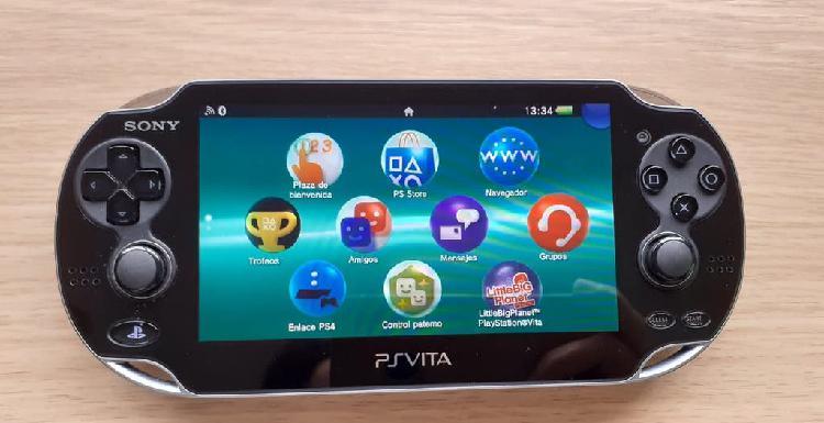 Sony ps vita console pch-1004 - negro