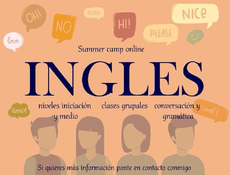 Summer camp clases inglés online