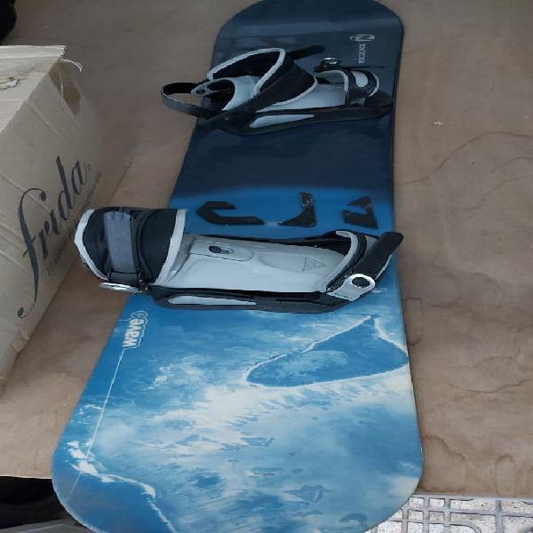 Tabla de snowboard rossignol y botas burton