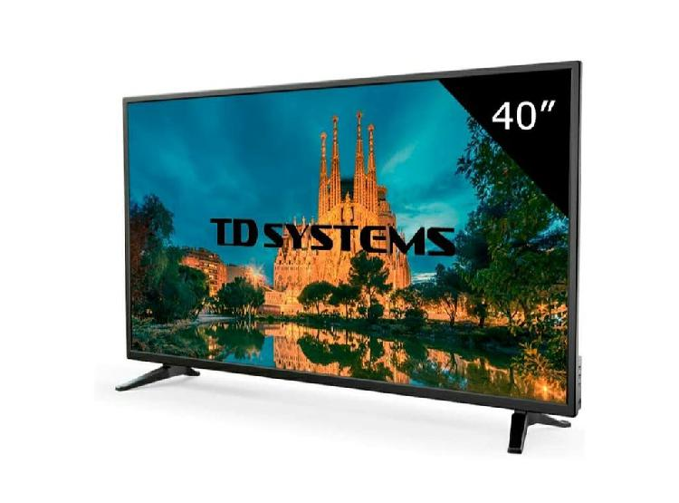 Televisor led td systems 40 pulgadas