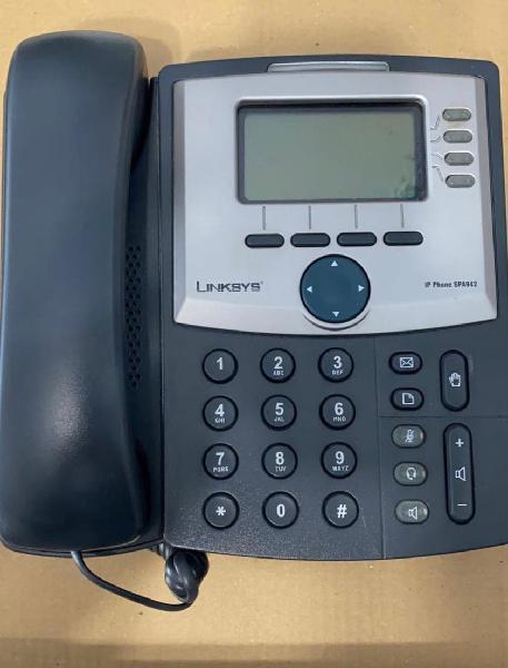 Teléfono linksys ip cisco