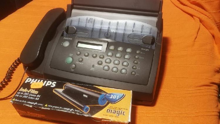 Teléfono, fax, copiadora philips magic