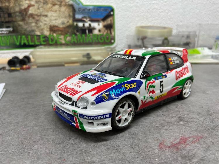 Toyota corolla wrc rally slot 1/24