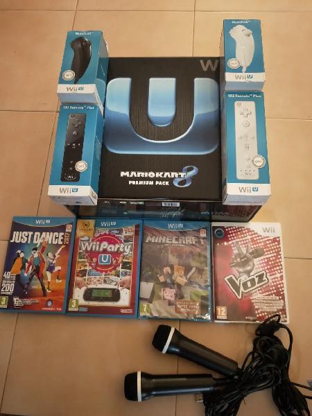 Wii u ( mario kart edition)