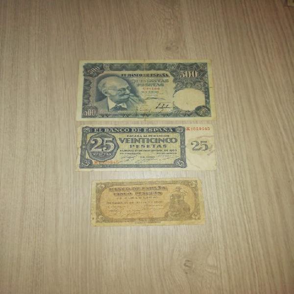 Lote de billetes