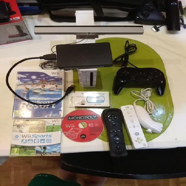 Wii muchos juegos instalados en disco duro