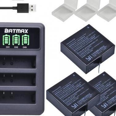 Baterías y cargador xiaomi yi4k/yi4k /lite