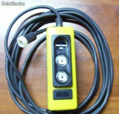 Botonera de 2 botones con cable