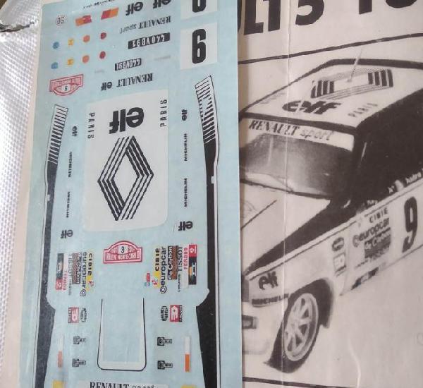 Calca] renault 5 turbo #9 j. ragnotti winner rally monte