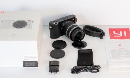Cámara de fotos y vídeo 4k yi m1