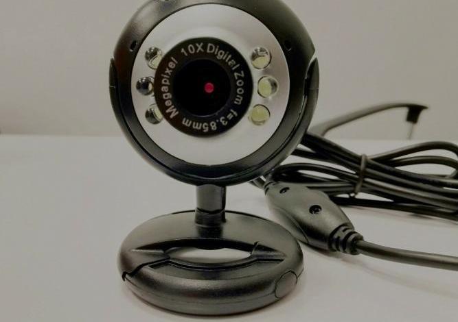 Cámara web para pc de 2 mp led 10 x zoom plug&play