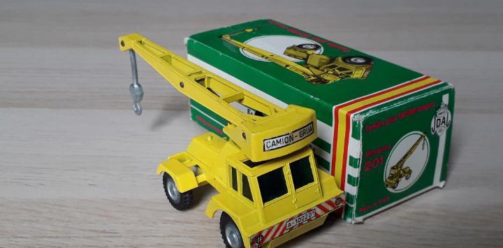 Camión grua taylor canguro 1ª serie ref. 201, metal esc.