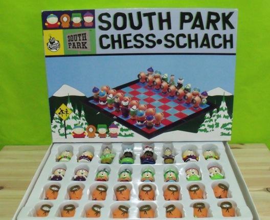 Juego mesa ajedrez south park - 3d chess - schach - comedy