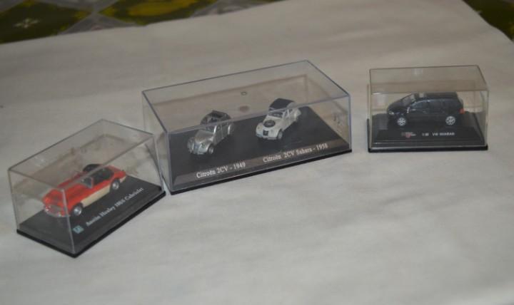 Lote coches escala 1/72, 1/87 y similares - con cajas ¡mira