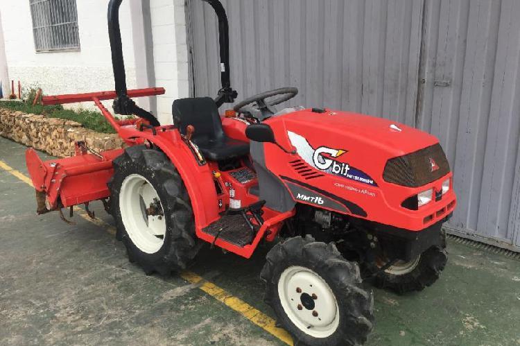 Mini tractor mitsubishi mmt16