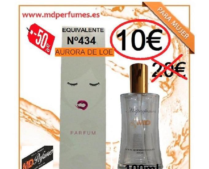 Perfume mujer equivalente nº434 aurora de loe alta gama