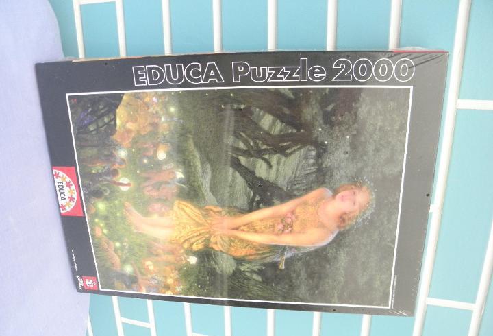 Puzzle tarde mágica de verano, e.r. hughes, 2000 piezas