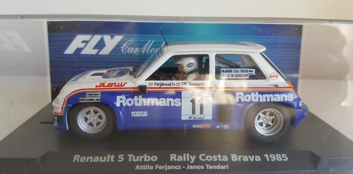 Renault 5 rally costa brava 1985 rothmans fly