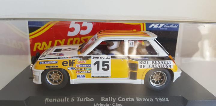 Renault 5 turbo rally costa brava 1984 #15 fly edición