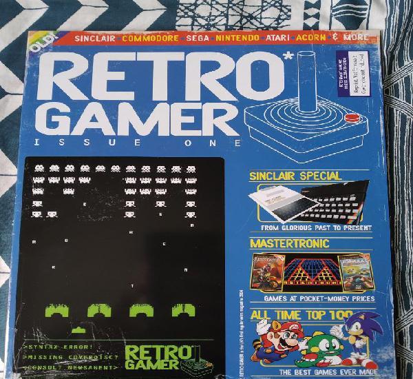 Retro gamer numero 1 - revista videojuegos retro