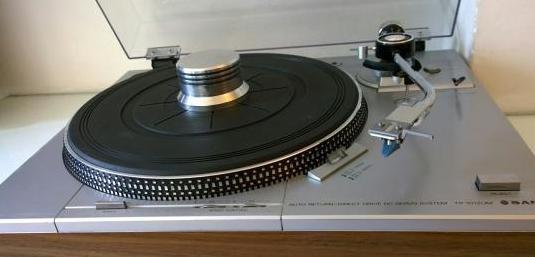 Sanyo tp-1012 um plato tocadiscos vintage