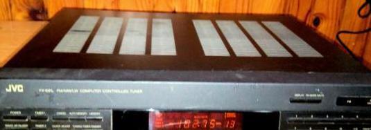 Sintonizador digital de radio hi-fi jvc