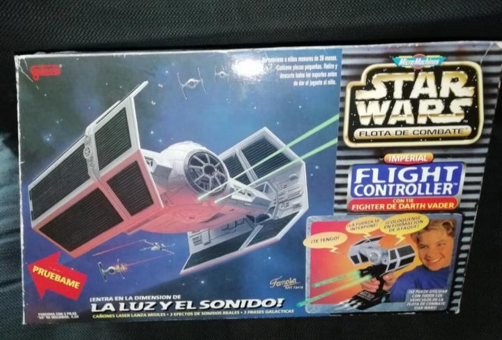 Star wars micromachines tie advanced darth vader
