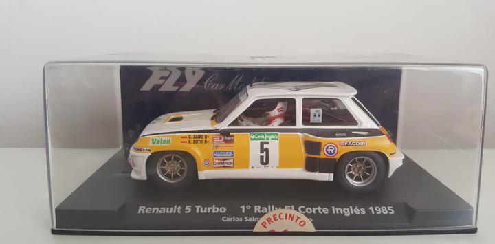Turbo #5 rally el corte inglés 1985 gly