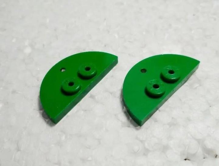 Verde placa popa 4 - tente (2 unidades)