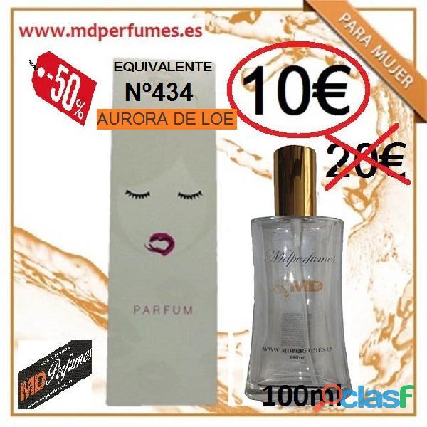 Perfume mujer equivalente nº434 aurora de loe alta gama 10€ 100ml