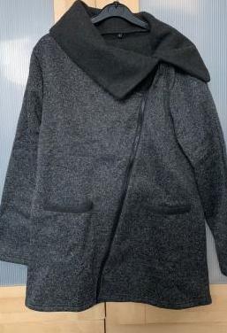 Abrigo gris marengo