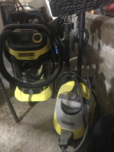 Aspiradora y limpiadora a vapor karcher