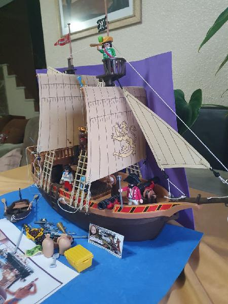 Barco pirata playmobil. ref:3750