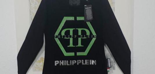 Blusa philipp plein negra tallas xl xxl