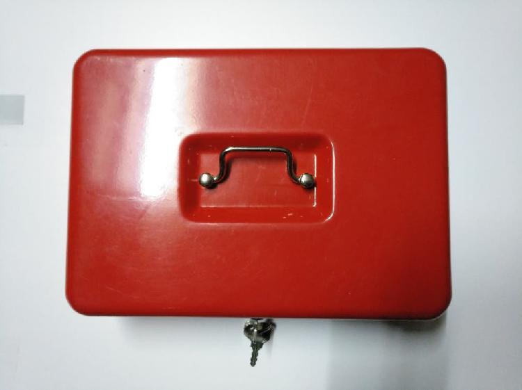 Caja seguridad metal-perfecto estado