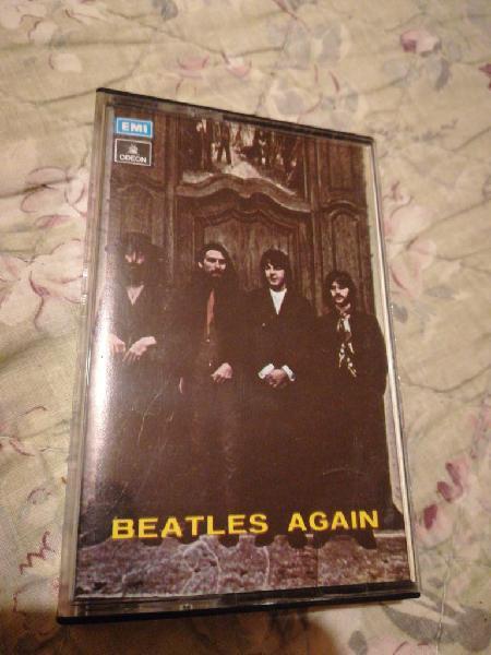 Cassette the beatles (sólo caja)