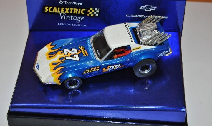Chevrolet corvette dragster edicion vintage no ha salido de