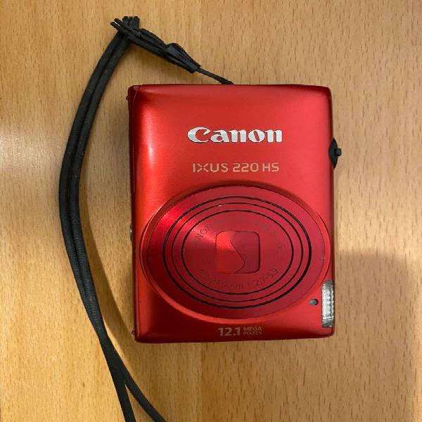 Canon ixus 220 hs- cámara digital compacta 12.1 mp
