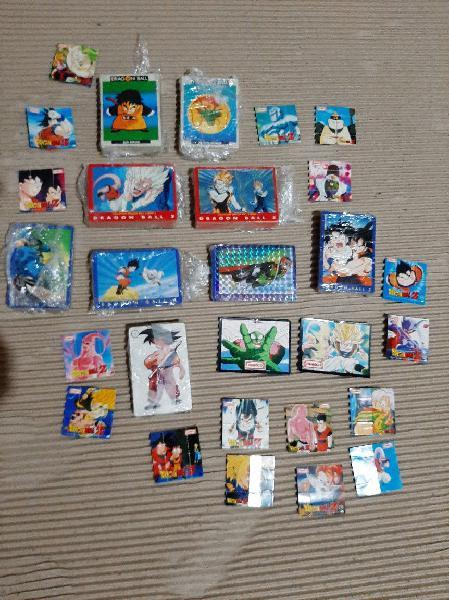 Cartas y puzles dragon ball, habrán unas 180