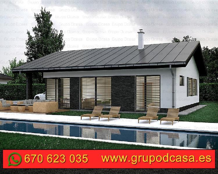 Casas industrializadas prefabricadas desde 490€/m2