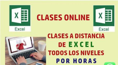 Clases online de excel basico y avanzado
