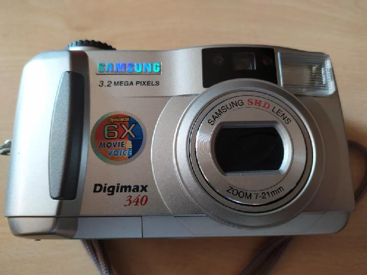 Cámara digital samsung digimax 340 3.2mp nueva