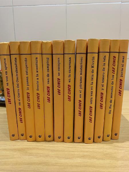 """Colección 12 libros """" los cinco"""""""