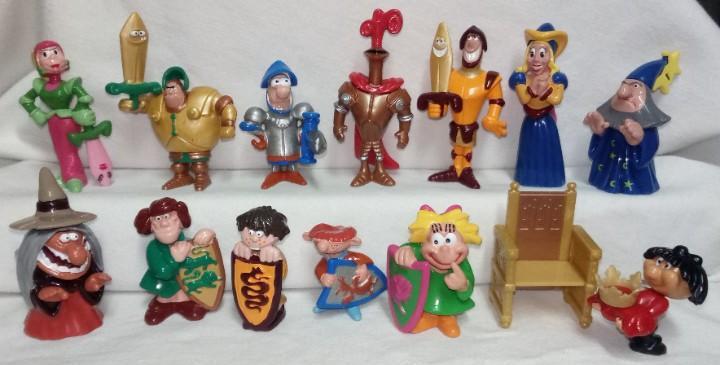 Coleccion completa figuras huevos kinder sorpresa funny