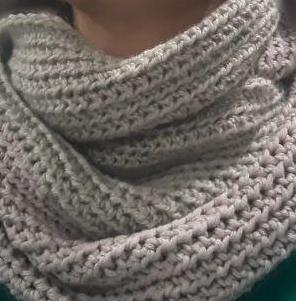 Cuellos en crochet hechos a mano