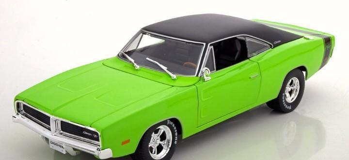 Dodge charger rt 1969 escala 1/18 de maisto